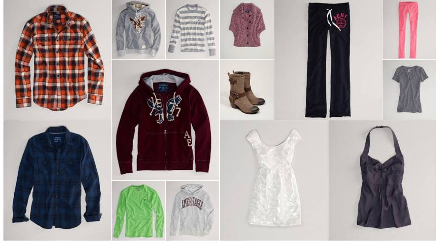 american eagle American Eagle: 50% off Clearance + Extra 15% off Coupon Code!