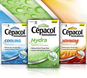Free Cepacol Lozenges at Dollar Tree