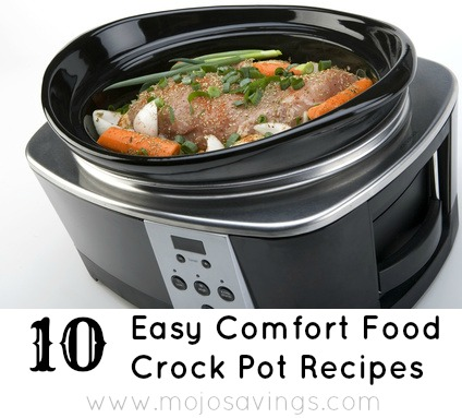 comfortfood 10 Easy Comfort Food Crock Pot Recipes