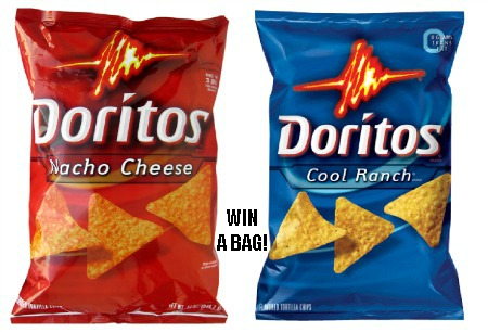 Flash Giveaway Win 1 Of 10 Free Bags Of Doritos