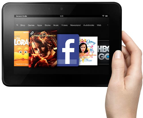 Win 1 of 500 Kindle Fire HDs from Amazon