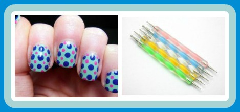 nail art collage Nail Art Dotting Pens 5 pk only $1.55 shipped!