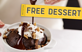 FREE Dessert Macaroni Grill: FREE Dessert on Your Birthday!