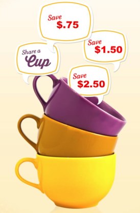 Oregon chai tea Oregon Chai Tea or Oregon Cafe: $2.50 off Coupon (Share with Facebook Friends)