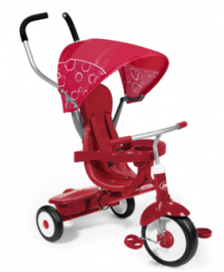 Radio Flyer Trike 247x300 Target Daily Deal: Radio Flyer Kids 4 in 1 Red Trike $70 (reg. $99.99!)