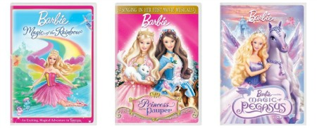 barbie collage Barbie DVDs only $5 ea Shipped!