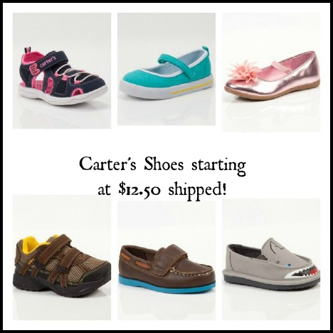 Totsy: Carters Shoes as low as $12.50 shipped