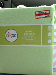 circo Circo Crib Sheet $5 off Coupon  = Free at Target!?