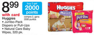 huggies walgreens Huggies Diapers only $4.99 at Walgreens!