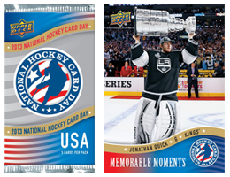nhl trading cards Free Pack of Upper Deck NHL Trading Cards!