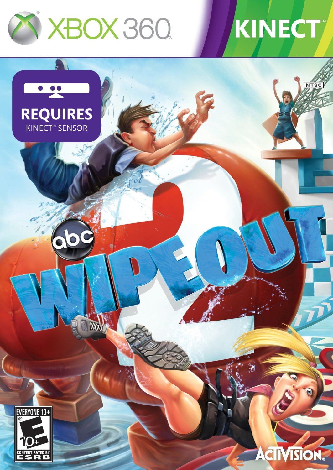 play wipeout games for kids