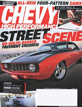 FREE 1 Year Subscription of Chevy High Performance Magazine