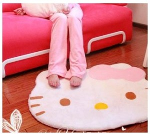 Hello Kitty area rug Hello Kitty Area Rug only $9.08 + FREE Shipping!