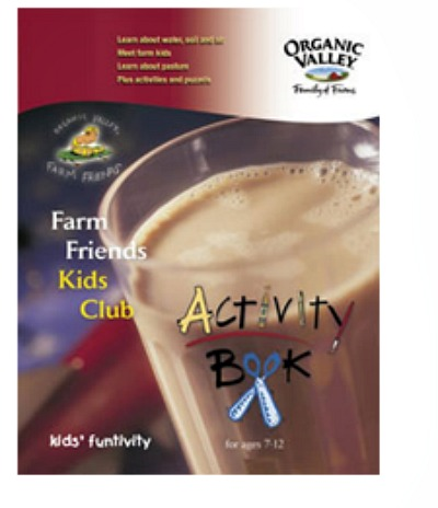 FREE Organic Valley Kids Activity Welcome Kit, Sticker and Coupon Book