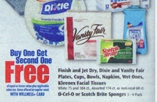 Scotch Brite scrub sponge Scotch Brite Scrub Sponges Coupon + Rite Aid and Walmart Deals