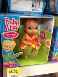 Baby Alive Kicks And Cuddles Newborn Doll Only 6 At