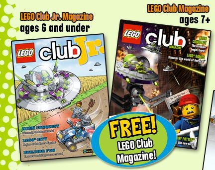 free lego mag FREE LEGO Club Jr. Magazine 2 Year Subscription