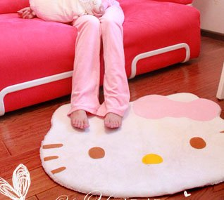 hello kitty rug Hello Kitty Area Rug only $12.65 shipped!