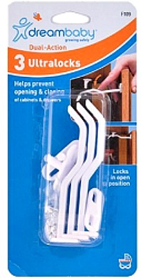 Cabinet Safety Latch Starter Kit1 FREE Cabinet Safety Latch Kit! Available Again!