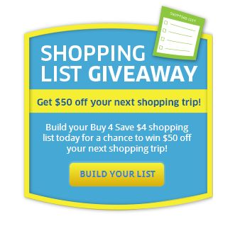 krogergame Kroger and Affiliates Buy 4 Save $4 Instant Win Game (Win a $50 Gift Card!)