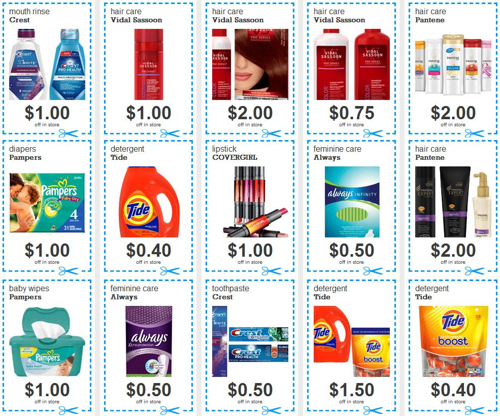 photograph relating to Crest Printable Coupons named 15 Refreshing PG Printable Discount codes: Tide, Pampers, Crest and excess