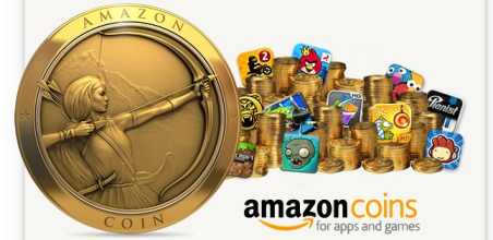 Amazon coins 20 FREE Amazon Coins ($4.60 Value) for the Amazon App Store on Kindle Fire!