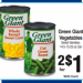 Green Giant veggies 2 for $1 at Kroger
