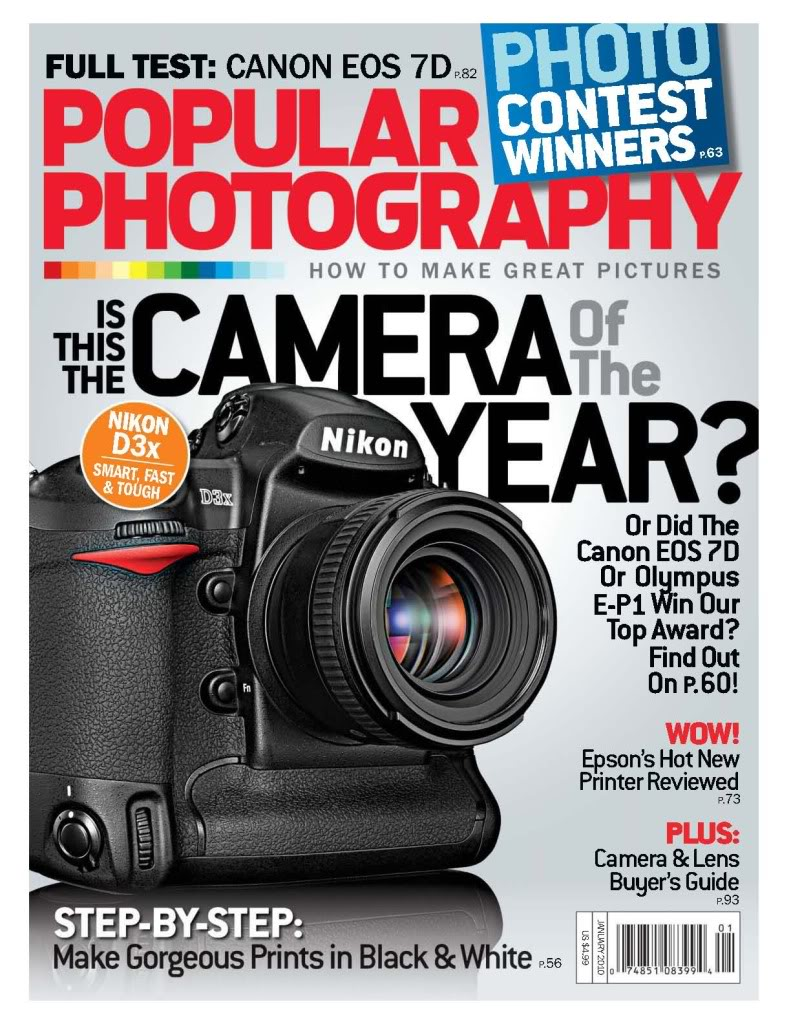 PopularPhotographyJanuary2010 FREE Subscription to Popular Photography Magazine!