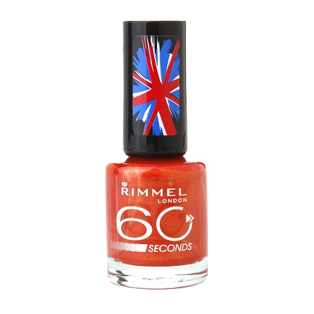 Rimmel 60 second nail polish Free Rimmel Cosmetics at Walgreens!