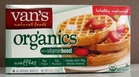Vans Natural Foods Waffles1 Van's Natural Foods $3 off Coupon= FREE Waffles at Target!