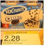 YoCrunch Yogurt at Target YoCrunch Yogurt 4 Pack Just 78¢ at Target (reg. $2.54)!
