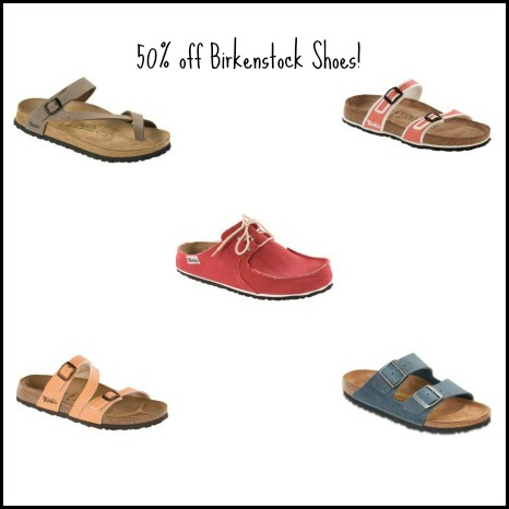 Zulily: 50% off Birkenstock Shoes