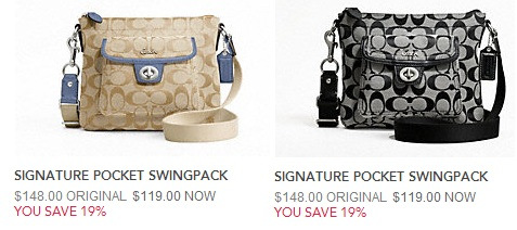 Coach Factory Outlet Deal Of The Hour 50 Off Clearance