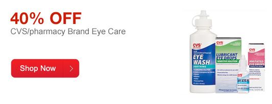 CVS Deal of the Day: 40% off Eye Care Products!
