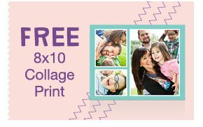 free 8x10 Free 8x10 Collage Print at Walgreens  Last Day!