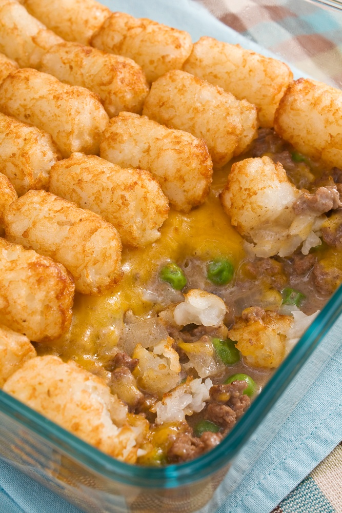Recipe: Hamburger Tater Tot Casserole!
