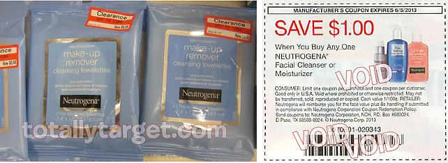 neutrogena towelettes Possible Free Neutrogena Make up Remover Towelettes at Target!