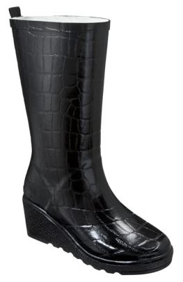 womens merona wedge rain boots Womens Merona Wedge Rain Boots 50% off Clearance Sale