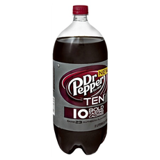 Dr Pepper TEN 2 liter bottle BOGO FREE Dr. Pepper Ten Coupon!