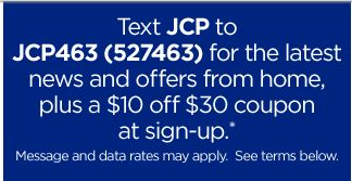 JCP 10 off coupon JCPenny: $10 Off a $30 Coupon!!!