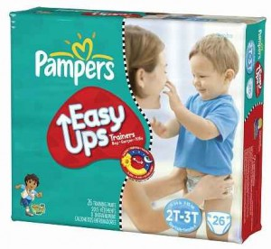 Pampers Easy Ups Pampers Jumbo Packs As Low As $5.50 Each at Walgreens!