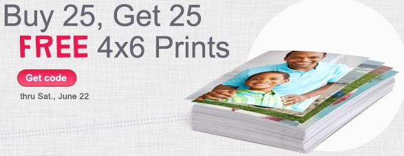 Walgreens buy 25 photo prints and get 25 for free Walgreens Photo Deal: Buy 25 Photo Prints and Get 25 More for FREE  Last Day!