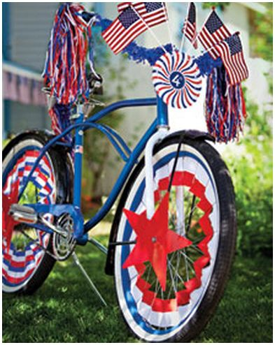 bikeclipart Free Fourth of July Bike Clip Art from Martha Stewart!
