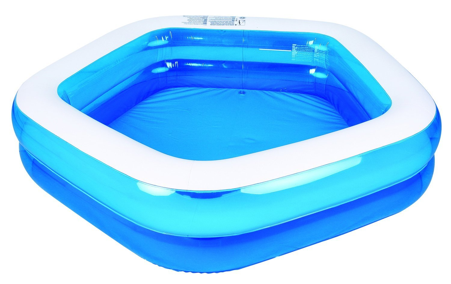 Giant Inflatable Family And Kids Pentagon Pool Only Shipped Reg