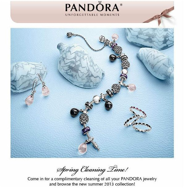 Pandora Jewelry Complimentary Cleaning On All Pandora