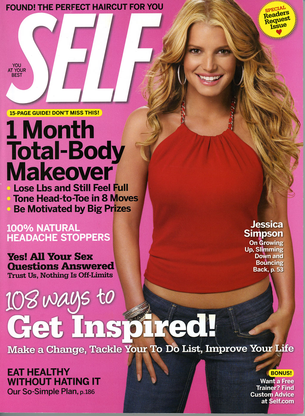 FREE Subscription To Self Magazine