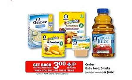Gerber and Rite Aid deal Better Than FREE Gerber Organic Baby Food at