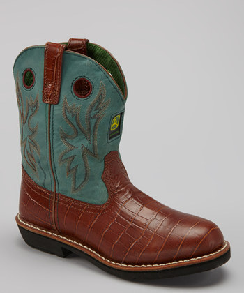 JOHNDEERE JD2134 GRN 1372287267 John Deere Boots 65% Off!