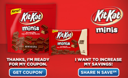 Kit Kat minis at cvs Free Plus Money Maker on Kit Kat Minis at CVS