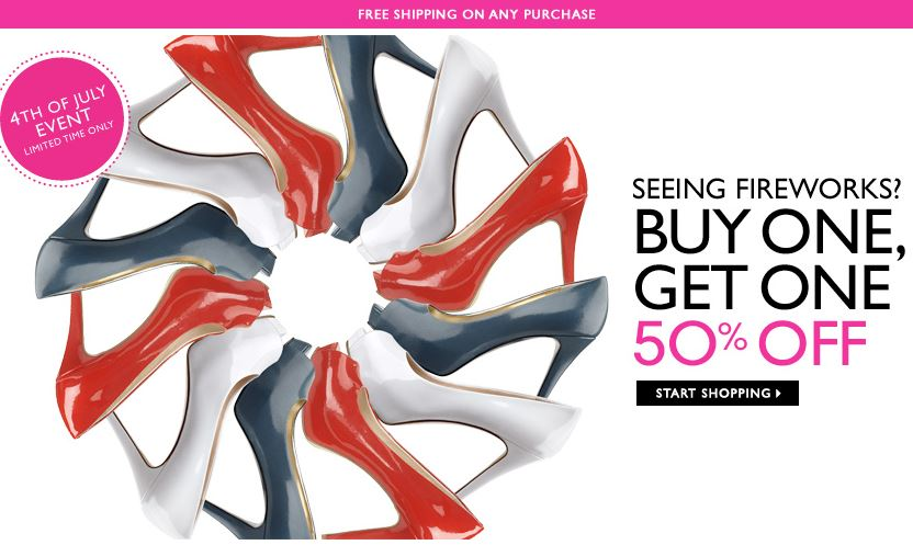 Nine West buy 1 get 1 half off sale Nine West: Buy 1 Get 1 50% off Sale + FREE Shipping!